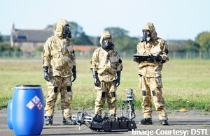 State-of-the-art robot seeks out chemical agents