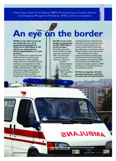 An eye on the border