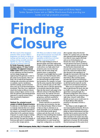 Finding closure